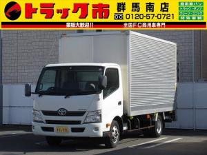 トヨタ ダイナトラック 3t積・アルミバン・ワイドロング・垂直パワーゲート650kg