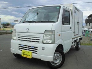 スズキ キャリイトラック パネルバン 低温冷凍車 -20度設定 オートマ エアコン パワステ
