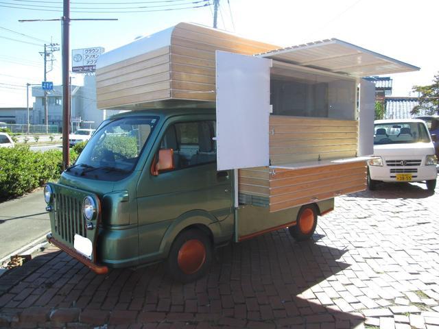 スズキキャリィ移動販売車コールドテーブル・発電機付き 移動販売車製作しますhttp://exit-nk.jp/お問合せください