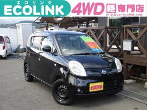 日産 モコ G FOUR 4WD・ターボ 修復歴なし タイミングチェーン車