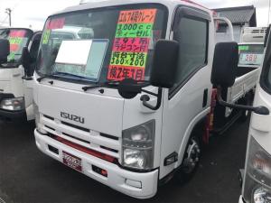 いすゞ エルフトラック 4段クレーン トラック AC MT ETC