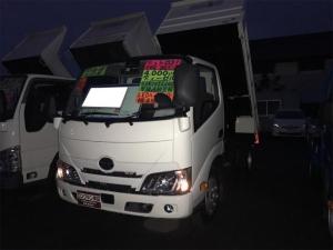 日野 デュトロ 全低床強化ダンプ エアコン PS PW エアバッグ クリアランスソナー LEDヘッドランプ