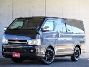 トヨタ ハイエースバン ロングスーパーGL 4WD 2.5リッターディーゼルターボ カロッツェリアナビ Bluetooth DVD再生 ETC ファブレス16インチアルミホイール タイミングベルト118000KM時交換済み 当店買取車