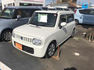 スズキ アルトラパン T ナビ 軽自動車 パールホワイト CVT AC 修復歴無