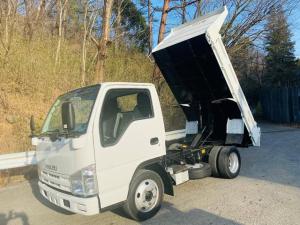 いすゞ エルフトラック 2t 全低床強化ダンプ コボレーン付 NOx.PM適合車両