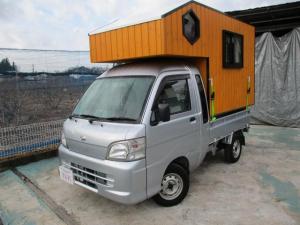 ダイハツ ハイゼットトラック ジャンボ 軽キャンピングカー  脱着可能キャンピング