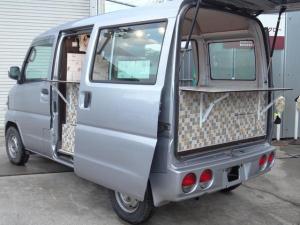 日産 クリッパーバン 移動販売車 キッチンカー 新品部品作成 側面・背面販売可能