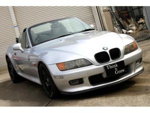 BMW Z3ロードスター ナビETC Mスポホイール 記録簿完備 HID リップ