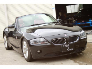BMW Z4 2.2i 赤レザー ETC 赤エンブレム ディフレクター
