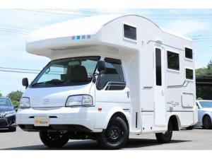 マツダ ボンゴトラック バンテック製シーダ 1オーナー 3サブ 家庭用AC FF