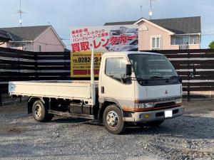 三菱ふそう キャンター 2トン ワイド ロング 平ボディ 車両総重量4765kg