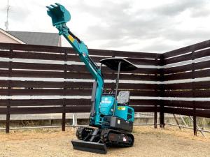 日本その他 日本  NAKATAKI ミニ油圧ショベル 1トンクラス 建機 農機 家庭菜園、農作業にどうぞ!