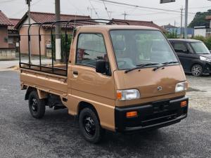 スバル サンバートラック ベースグレード NEWペイント・YOKOHAMAジオランダータイヤ エアコン 4WD 5速マニュアル