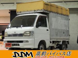 ダイハツ ハイゼットトラック トラック660 3方開 4WD キャンピングベース タイベル交換済