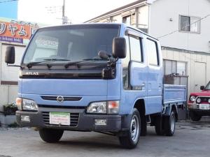 日産 アトラストラック WキャブロングスーパーローDX5速マニュアル ガソリン車95