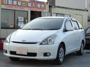 トヨタ ウィッシュ X NEOエディション2DINナビ3列シート ETC 177