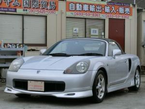 トヨタ MR-S Sエディション 5速マニュアル ローダウン ABS ETC CD ソフトトップオープン  55