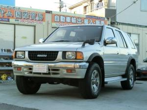 いすゞ ミューウィザード タイプX ウィザード3.1ディーゼルターボ/4WD///4WD/背面タイヤ/エアコンクーラー/運転席エアバック/助手席エアバック/アルミホイール/ルーフレール/169