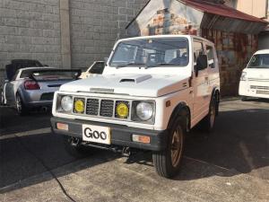 スズキ ジムニー インタークーラーターボ 4WD MT AC 4名乗り 記録簿