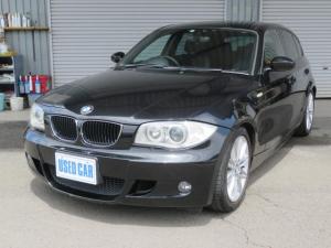 BMW 1シリーズ 116i Mスポーツパッケージ 車検2年付き タイヤ新品交換 パイオニアHDDナビ 17インチAW