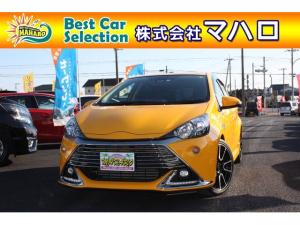 トヨタ アクア G G's セフティーセンスC Bluetooth ナビ Bモニター ワンオーナー 社外マフラー