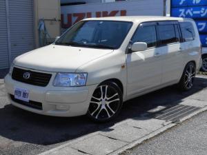 トヨタ サクシードワゴン TX Gパッケージ 新品車高調(純正部品アリ)/17インチアルミホイール/社外CD・MDデッキ/電動格納ミラー