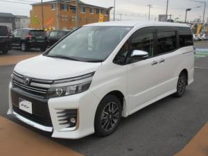 トヨタ ヴォクシー ZS 煌II ナビゲーションシステムSDフルセグ イモビライザー キーレスエントリー 両側電動スライドドア 8人乗り Bluetooth