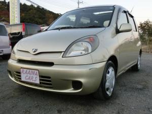 トヨタ ファンカーゴ X リミテッド ペアベンチパッケージ