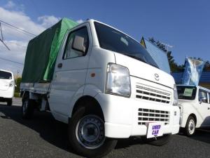 マツダ スクラムトラック KCスペシャル軽トラック4WDMT幌付エアコンパワステ深谷市