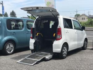スズキ ワゴンR スローパー 福祉車両 AT 修復歴無 オーディオ付 PS
