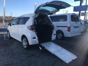 トヨタ ラクティス  ウェルキャブ 車いす移動車 福祉車両 CVT 5名乗り ホワイト パワーウィンドウ