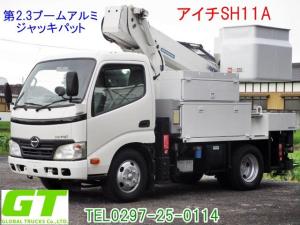 日野 デュトロ アイチ 11m 高所作業車 SH11A 第2.3ブームアルミ