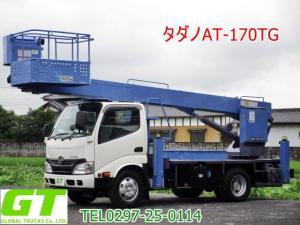 日野 デュトロ タダノ 17m 高所作業車 AT170TG