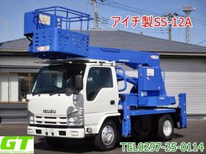 いすゞ エルフトラック  アイチ 12m 高所作業車 SS12A