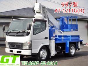 三菱ふそう キャンター  タダノ 12m 高所作業車 AT121TG リアバケット
