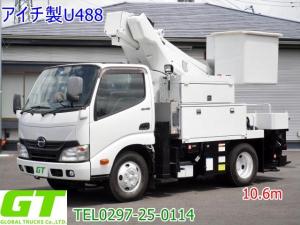 日野 デュトロ  アイチ 10.6m 高所作業車
