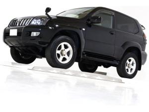 トヨタ ランドクルーザープラド RZ 4WD リアLSD付 新品ダッシュボード交換済 ナビ
