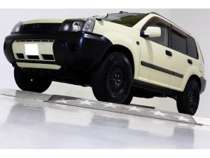 日産 エクストレイル S 4WD ウッドパネル 社外マフラー 5速MT HID
