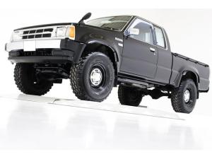 マツダ プロシード キャブプラス 4WD リフトアップ ヴィンテージ16インチアルミホイール 荷台チッピングコート済 クロームメッキフロントバンパー リアクロームメッキステップバンパー US仕様コーナーランプ キーレス CDオーディオ
