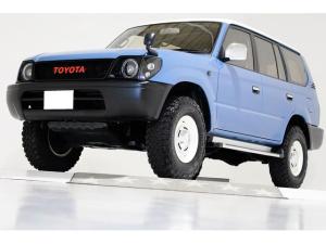 トヨタ ランドクルーザープラド TZ 4WD タイミングベルト交換済 丸目仕様 ナローボディ DEANクロスカントリー16インチアルミホイール ブラウンヴィンテージレザー調シートカバー 3列シート 8人乗り リアヒーター リアエアコン付き
