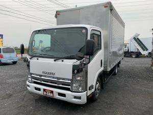 いすゞ エルフトラック 手動ウィング 最大積載量2t バックモニター