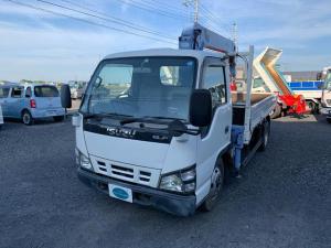 いすゞ エルフトラック 4段クレーン リモコン付き 走行4万キロ TADANO