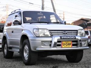 トヨタ ランドクルーザープラド RX サンルーフ キーレス ドアバイザー
