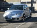 フォルクスワーゲン/VW ニュービートル ターボ マニュアル 革シート ETC 社外アルミホイール