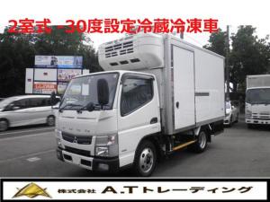三菱ふそう キャンター 冷蔵冷凍車 2.95t積載 -30度 2室式 AT車