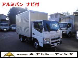三菱ふそう キャンター  2t積載 アルミバン AT車