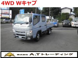 三菱ふそう キャンター  キャンターガッツ 1.35t積載 4WD 6人乗Wキャブ AT車