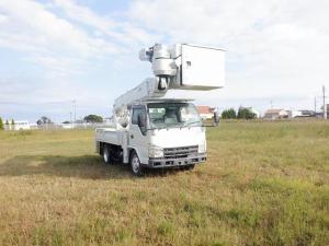 いすゞ エルフトラック  高所作業車 アイチ SH15B 電工絶縁仕様