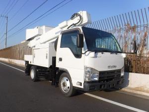いすゞ エルフトラック  高所作業車 SH10A 9.9m パートタイム4WD