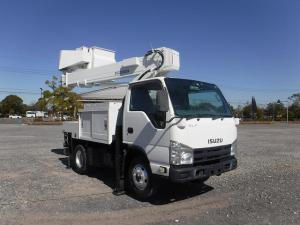 いすゞ エルフトラック  2 高所作業車 アイチ SH10A パートタイム4WD
